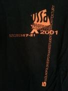 T-shirt okolicznościowy - plecy. (autor fot.: Rafał Bełoniak)